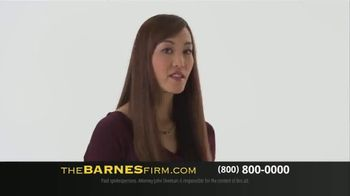 The Barnes Firm TV Spot, 'Choose Experience and Success' - Thumbnail 1