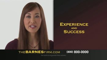 The Barnes Firm TV Spot, 'Choose Experience and Success' - Thumbnail 3