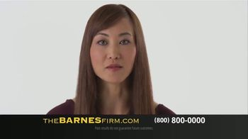 The Barnes Firm TV Spot, 'Choose Experience and Success' - Thumbnail 4