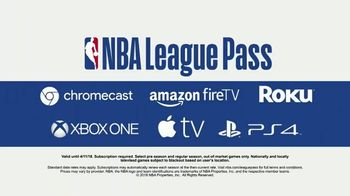 NBA League Pass TV Spot, 'Anytime, Anywhere' - Thumbnail 4