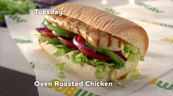 Subway Sub of the Day TV Spot, 'Every Day Is Different' - Thumbnail 5