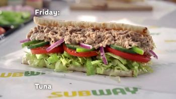 Subway Sub of the Day TV Spot, 'Every Day Is Different' - Thumbnail 7