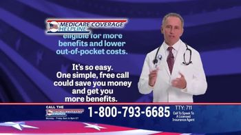 Medicare Coverage Helpline TV Spot, 'Lower Out-of-Pocket Costs' - Thumbnail 5
