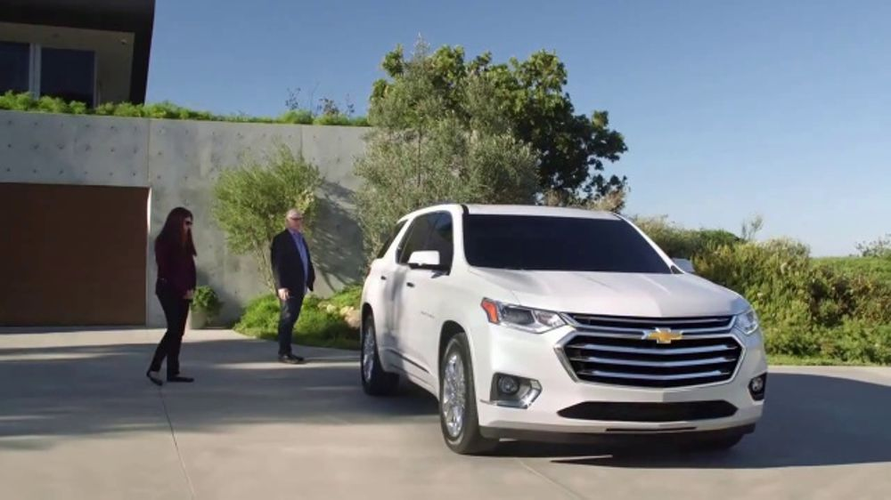 2018 Chevrolet Traverse Tv Commercial Family Reunion