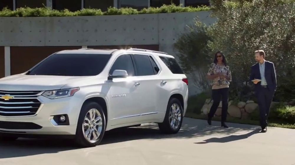2018 Chevrolet Traverse TV Commercial, 'Family Reunion: Driveway' [T1] - iSpot.tv