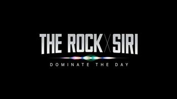 Apple iPhone 7 TV Spot, 'The Rock x Siri Dominate the Day' - Thumbnail 9