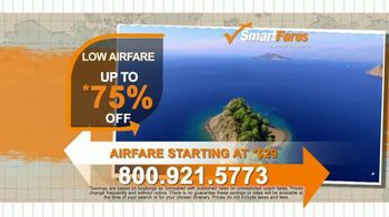 SmartFares TV Spot, 'The Lowest Airfare Possible' - Thumbnail 3