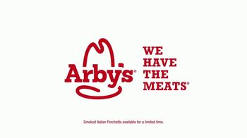 Arby's Smoked Italian Porchetta TV Spot, 'A Present You Give to Yourself' - Thumbnail 3
