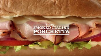 Arby's Smoked Italian Porchetta TV Spot, 'A Present You Give to Yourself' - 2413 commercial airings