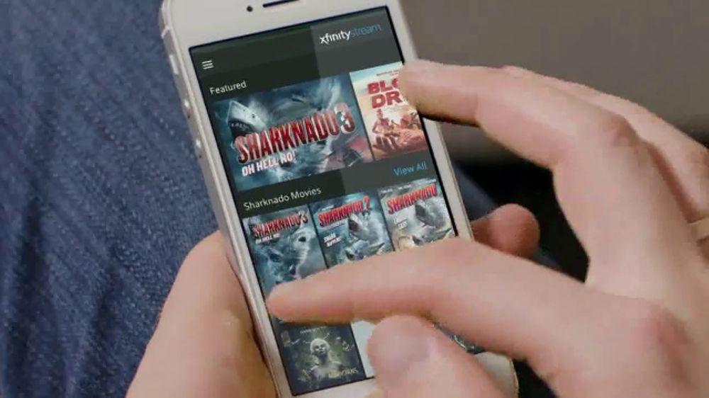 XFINITY Stream App TV Commercial, 'Syfy: Sharknado 5: Global Swarming' -  Video