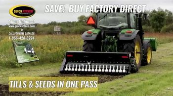 Quick Attach Till & Grow Food Plot Planter TV Spot, 'Over 130 Attachments'