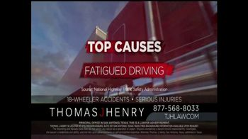 Thomas J. Henry Injury Attorneys TV Spot, 'Large Truck Accidents' - Thumbnail 4