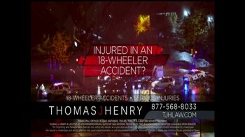 Thomas J. Henry Injury Attorneys TV Spot, 'Large Truck Accidents' - Thumbnail 5
