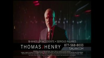 Thomas J. Henry Injury Attorneys TV Spot, 'Large Truck Accidents' - Thumbnail 6