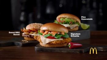 McDonald's Signature Crafted Sandwiches TV Spot, 'Sauce Game' - Thumbnail 8