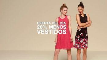 Macy's Venta de Un Dia TV Spot, 'Vestidos y camisas de vestir' [Spanish] - Thumbnail 4