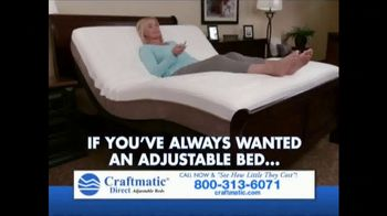 Craftmatic TV Spot, 'Save on Adjustable Beds' - Thumbnail 1