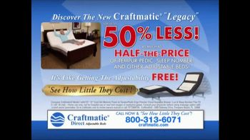 Craftmatic TV Spot, 'Save on Adjustable Beds' - Thumbnail 10