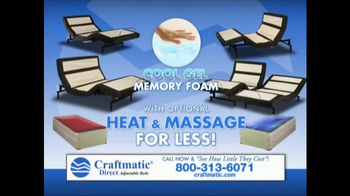 Craftmatic TV Spot, 'Save on Adjustable Beds' - Thumbnail 6