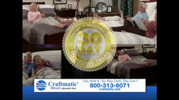 Craftmatic TV Spot, 'Save on Adjustable Beds' - Thumbnail 7