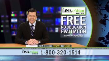 The LASIK Vision Institute Contoura Vision TV Spot, 'Topography Guided' - Thumbnail 9