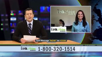 The LASIK Vision Institute Contoura Vision TV Spot, 'Topography Guided' - Thumbnail 1