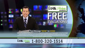The LASIK Vision Institute Contoura Vision TV Spot, 'Topography Guided' - Thumbnail 5
