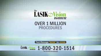 The LASIK Vision Institute Contoura Vision TV Spot, 'Topography Guided' - Thumbnail 6
