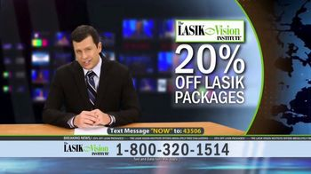 The LASIK Vision Institute Contoura Vision TV Spot, 'Topography Guided' - Thumbnail 8