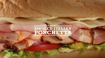 Arby's Smoked Italian Porchetta TV Spot, 'Italian Art' - 2201 commercial airings