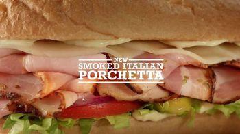 Arby's Smoked Italian Porchetta TV Spot, 'Italian Art' - 2201 commercial airings