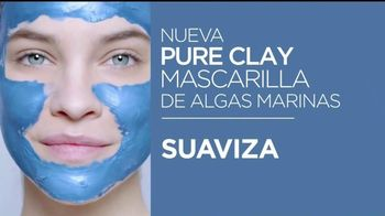 L'Oreal Paris Mascarillas Pure Clay TV Spot, 'Detox ya' [Spanish] - 147 commercial airings