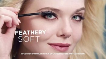 L'Oreal Paris Lash Paradise TV Spot, 'Feathery' Feat. Elle Fanning - 6152 commercial airings