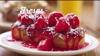 IHOP French-Toasted Donuts TV Spot, '¡Las cejas hablan!' [Spanish] - Thumbnail 3