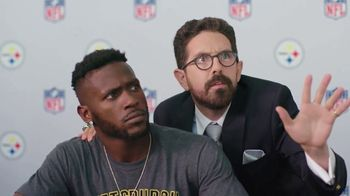 NFL Fantasy Football TV Spot, 'Be a Total Boss' Featuring Antonio Brown - 446 commercial airings