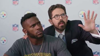 NFL Fantasy Football TV Spot, 'Be a Total Boss' Featuring Antonio Brown - Thumbnail 1
