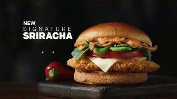 McDonald's Signature Sriracha Sandwich TV Spot, 'Turn It Up' - Thumbnail 8