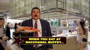 Caesars Palace TV Spot, 'Bacchanal Buffet' Featuring Guillermo Rodriguez - Thumbnail 1
