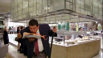 Caesars Palace TV Spot, 'Bacchanal Buffet' Featuring Guillermo Rodriguez - Thumbnail 4