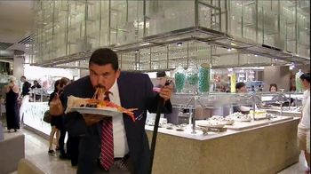 Caesars Palace TV Spot, 'Bacchanal Buffet' Featuring Guillermo Rodriguez - Thumbnail 5