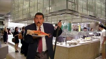 Caesars Palace TV Spot, 'Bacchanal Buffet' Featuring Guillermo Rodriguez - Thumbnail 6