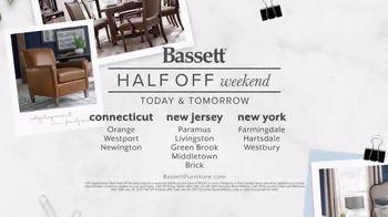 Bassett Half Off Weekend TV Spot, 'Refresh: Chairs and Beds' - Thumbnail 6