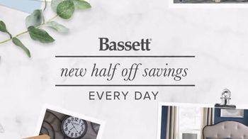 Bassett Half Off Weekend TV Spot, 'Refresh: Chairs and Beds' - Thumbnail 2