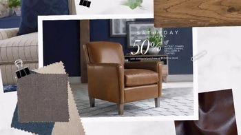 Bassett Half Off Weekend TV Spot, 'Refresh: Chairs and Beds' - Thumbnail 3