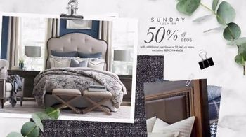 Bassett Half Off Weekend TV Spot, 'Refresh: Chairs and Beds' - Thumbnail 4