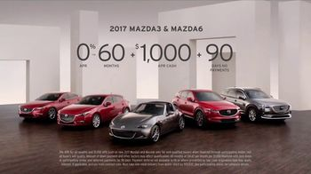 Mazda Driver's Choice Event TV Spot, 'Driving Matters: 2017 Premium Sedans' - Thumbnail 9