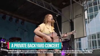 CMT Summer of Music Sweepstakes TV Spot, 'Artist: Jillian Jacqueline' - Thumbnail 9