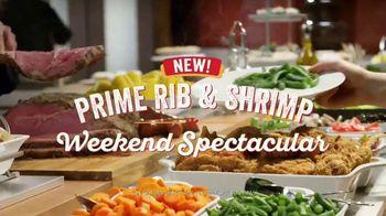 Golden Corral Prime Rib & Shrimp Spectacular TV Spot, 'Sin fin' [Spanish]