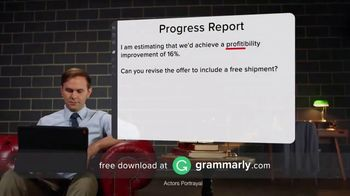 Grammarly TV Spot, 'Personal Proofreader' - Thumbnail 2