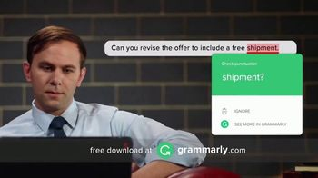 Grammarly TV Spot, 'Personal Proofreader' - Thumbnail 8